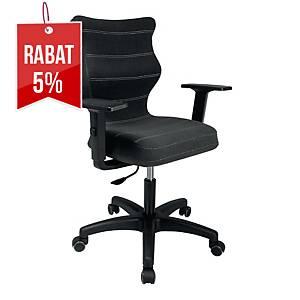 Krzesło biurowe ENTELO UNI, antracyt