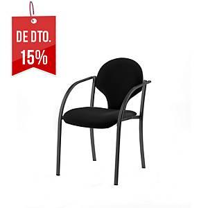 Cadeira de conferência Lyreco SC45 - Preto