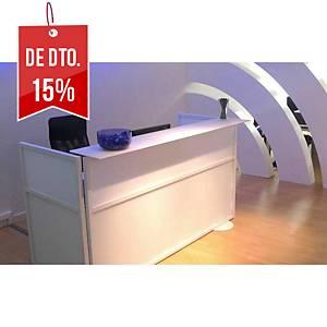 Biombo Imasoto - 180 x100 cm - Branco/Branco