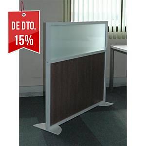 Biombo Secret Imasoto - 180 x100 cm - Vidro/Branco