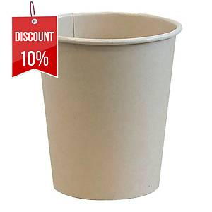 PK100 BROWN PAPER CUP 200ML