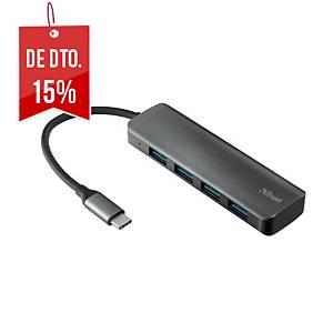 TRUST 23328 HALYX HUB 4PORT USB-C