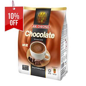 Aik Cheong Chocolate 3 in 1 - Pack of 15 x 40g