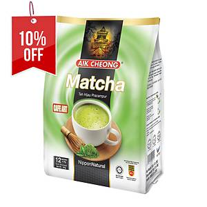 Aik Cheong Matcha 3 in 1 - Pack of 12 x 25g