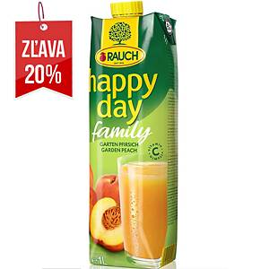 Džús Happy Day Family Broskyňa 1L