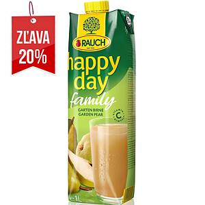 Džús Happy Day Family Hruška 1L