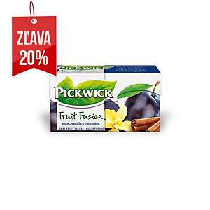 Čaj Pickwick Ovocné variáce, slivka-vanilka-škorica, 20 porcií
