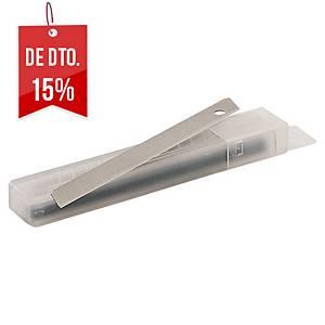 Pack 10 lâminas para X-ato Lyreco - 9mm