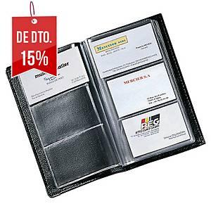 Porta-cartões - 195 x 120 mm - 120 cartões - preto
