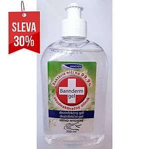 Dezinfekční gel Bannderm na ruky, 300 ml
