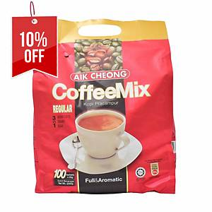 Aik Cheong Coffee Mix 3 in 1 - Pack of 100