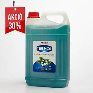 Tegee-Sol, fertőtlenítő folyékony tisztítószer koncentrátum , 5 l