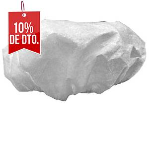 Pack de 50 gorros desechables Norvil - blanco