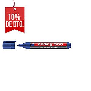 Marcador permanente EDDING 300 color azul