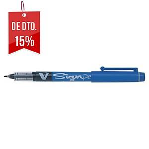 Marcador Pilot V-Sign Pen - azul