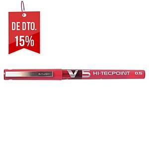 Roller de tinta líquida Point V5 Hi-Tecpoint - vermelho