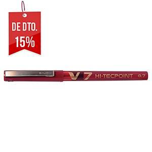 Roller de tinta líquida Point V7 Hi-Tecpoint - vermelho