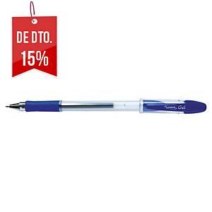 Caneta Lyreco Premium Gel - azul