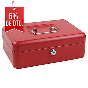 Caja de caudales color roja  Dimensiones:: ensiones:   250X180X90mm