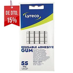 Pack 55 tiras adesivas Lyreco