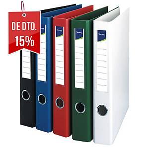 Dossier Lyreco - A4 - 4 argolas - lombada 53mm - azul