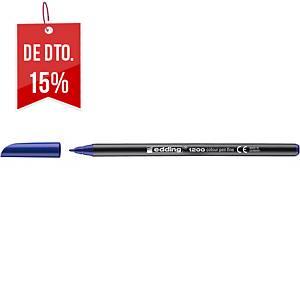 Marcador Edding 1200 - azul