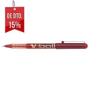 Roller de tinta líquida Point V-Ball - vermelho