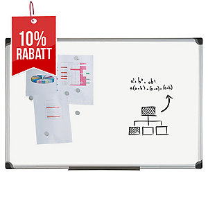 Bi-Office Weißwandtafel CR1201178 Classic, Maße: 120 x 180cm