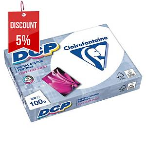 DCP WHITE A4 PAPER 100GSM - PACK OF 1 REAM (500 SHEETS)
