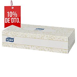 Caja de 100 pañuelos faciales Tork - 20 x 21 cm - 2 capas