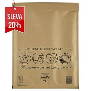Bublinková obálka SealedAir Mail Lite® Gold, 270 x 360 mm, hnědá, 50 kusů