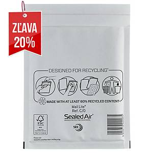Bublinková obálka SealedAir Mail Lite®, 150 x 210 mm, biela, 100 kusov