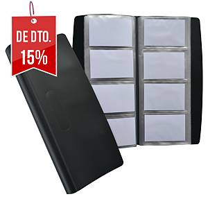 Porta-cartões Elba Tout Terrain - 277x135mm - 240 cartões - preto