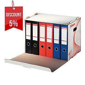 STORAGE BOX FOR ESSELTE L/A FILES