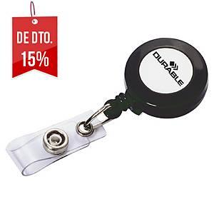 Identificadores com cordão extensível e mola Durable - 80cm