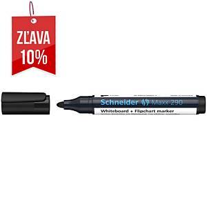 Popisovač na biele tabule a flipcharty Schneider Maxx 290, čierny, 1ks