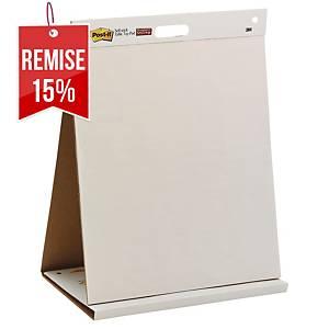 Paperboard de table Post-it - 50,8 x 58,4 cm - 20 feuilles