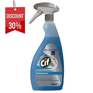 CIF GLASS CLEANER 750ML