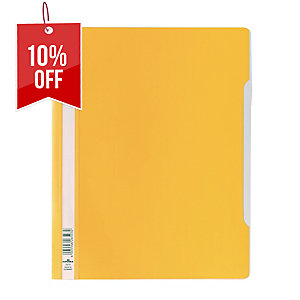 DURABLE CLEAR VIEW YELLOW A4 FOLDER