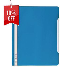 DURABLE CLEAR VIEW BLUE A4 FOLDER
