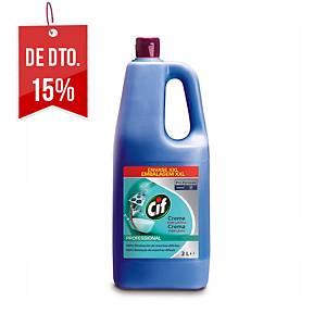 Produto de limpeza em creme Cif Profissional com lixívia - 2 L