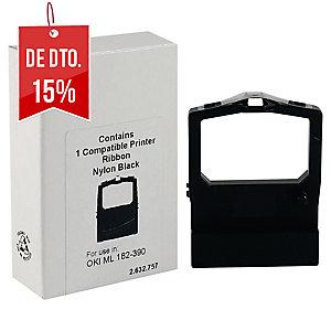 Fita matricial nylon preto compatível com OKI ML-182/280/280/320 y ELITE/321