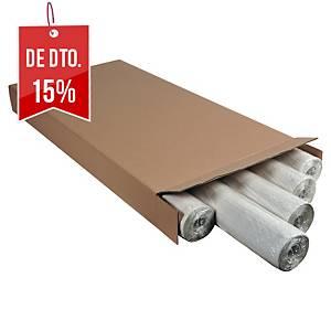 Pack 5 blocos de 50 folhas quadriculadas para quadro Exacompta - 650 x 980 mm