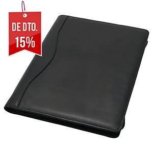 Porta-documentos de congressos Monolith - couro sintético - 250x340x25 mm- preto