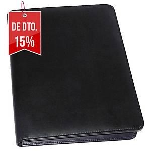 Porta-documentos de congressos Monolith - pele - 300 x360 x50 mm - preto