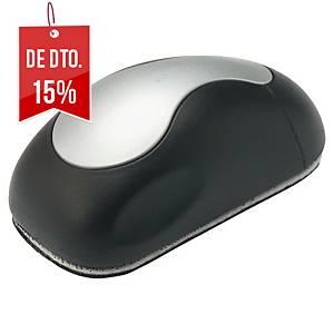 Apagador para quadro branco - em forma de rato - magnético - cinzento/preto