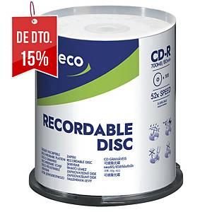 Pack de 100 CD-R Lyreco - 700 MB