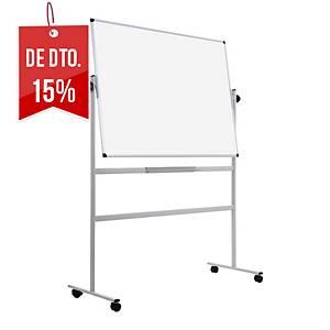 Quadro branco rodas Bi-Office - 1200 x 900 mm