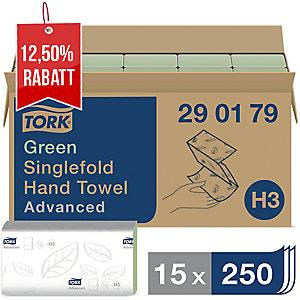 Falthandtuch Tork Advanced 290179, 2-lagig, Tissue, 15 Bündel a 250 Tücher