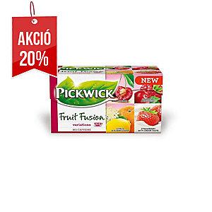 Pickwick tea, Gyümölcsvariációk, 20 filter/doboz